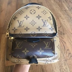 Extra pics LV Palm Spring Mini Backpack Reverse